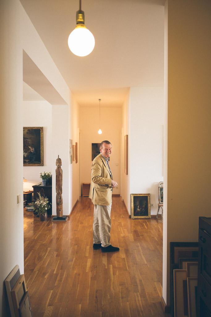 Fred Jahn, Galerist