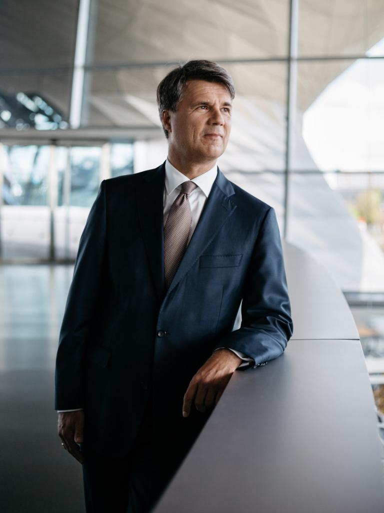 Harald Krueger, CEO, BMW