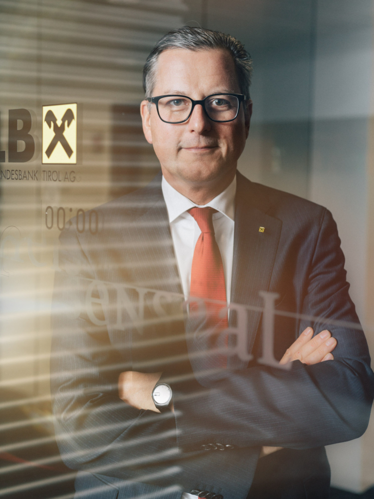 Johannes Ortner, CEO, Raiffeisen-Landesbank Tirol