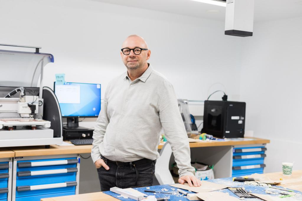 Erwin van Handenhoven, Chefdesigner hager