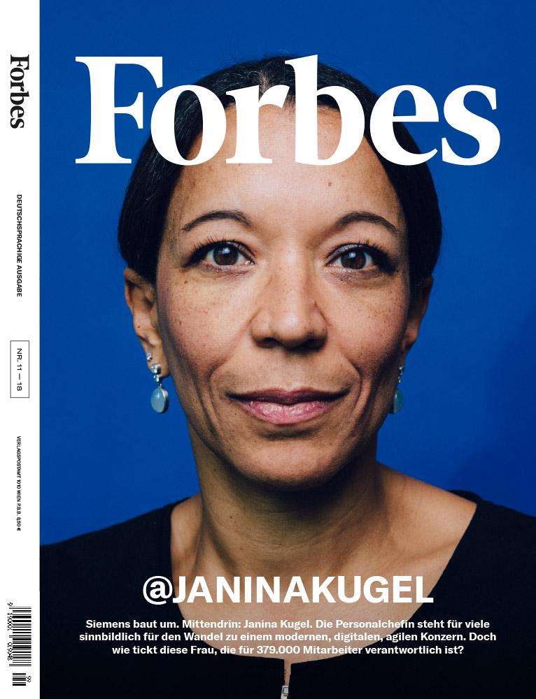 Janina Kugel, CHRO, Siemens