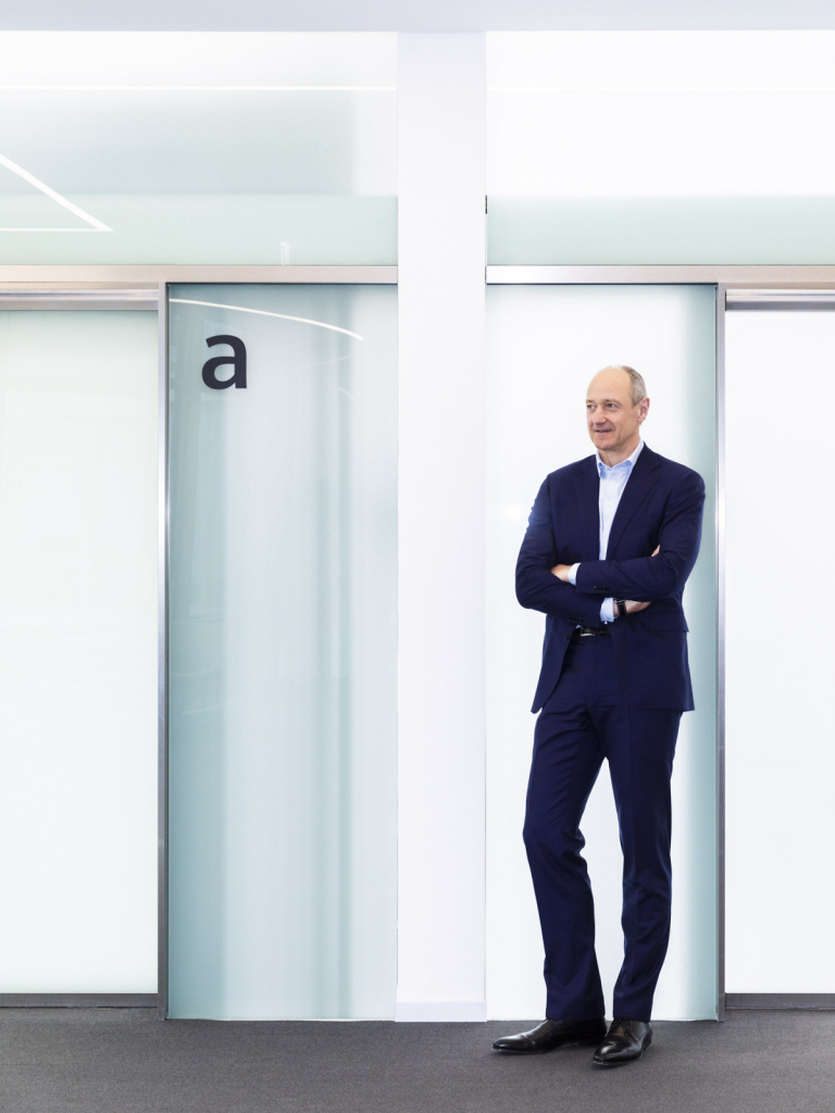 Roland Busch, COO, Siemens