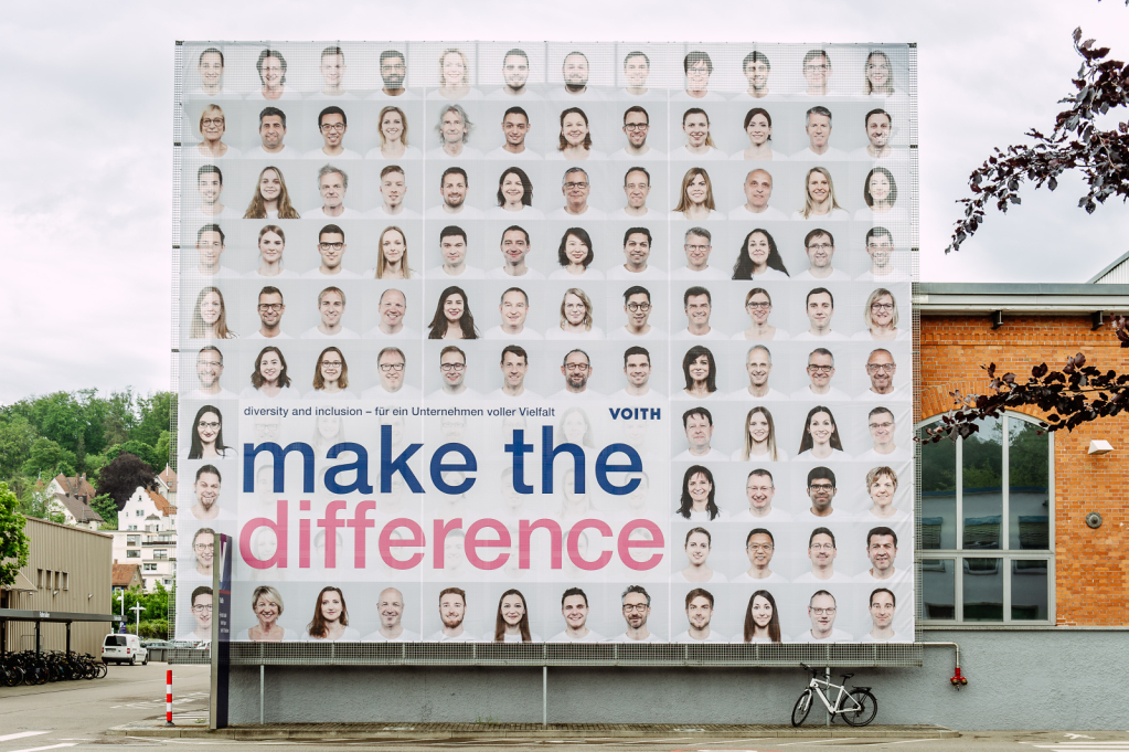Diversity and Inclusion Kampagne, VOITH