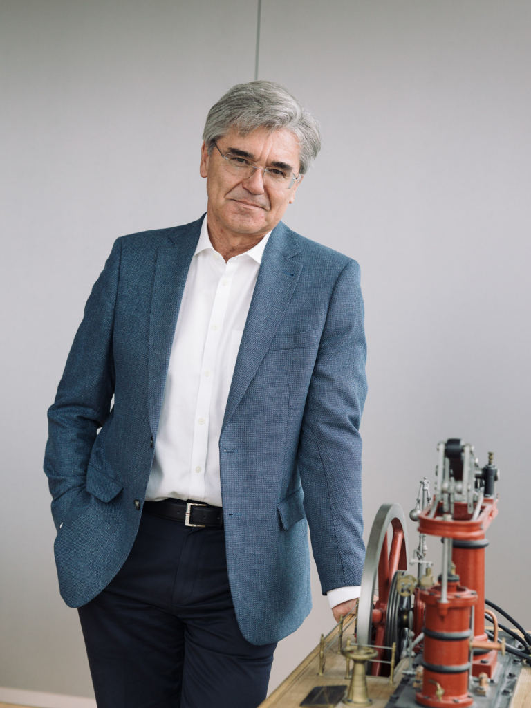 Joe Kaeser, CEO, Siemens